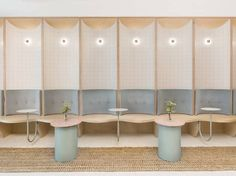 Looksee Looksee | curved banquette seating | restaurant design