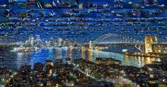 Incredible Photo Mosaics Sidney, Australia