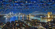 Incredible Photo Mosaics Sidney, Australia