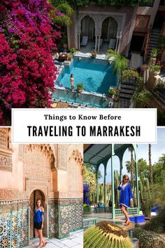 Marrakesh Travel Tips - Things to know before you go.