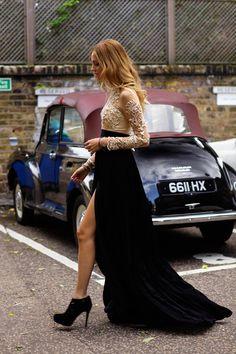 fashion blogger Chiara Ferragni #streetstyle #fashion