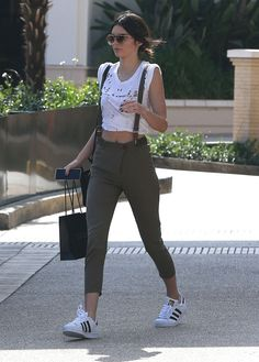 6/13/15 - Kendall Jenner shopping in Beverly Hills.