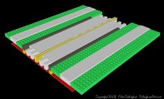 Lego Road, Road Pictures, Lego Display, Road Train, Earth From Space, Custom Lego, Mosaic Designs, Space Travel, Lego Creations