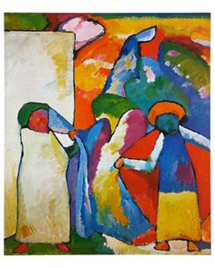 """""""Colour is a power which directly influences the soul."""" ― Wassily Kandinsky, Concerning the Spiritual in Art   Improvisation No. 6 Print by Wassily Kandinsky"""