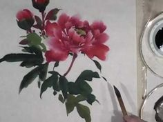 Peony Demo Part 2 of 3 - Leaves - YouTube