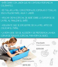 Tips para que la piel de tu bebé no se irrite. #cuidado #delicado #bebe #baño