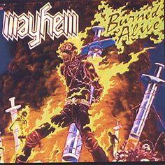 Mayhem - Burned Alive, Grey
