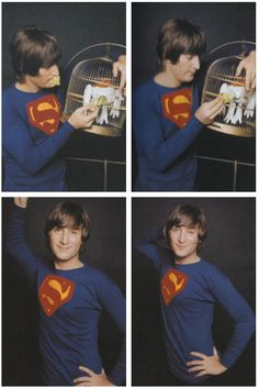 John Lennon is a superman