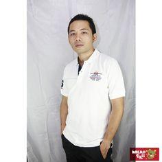 【AMERO】男裝短袖網眼POLO衫(白)-momo購物網