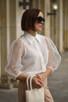 Classy Work Outfits, Chic Outfits, Pretty Outfits, Girl Outfits, Zara Outfit, Sexy Bluse, Look Zara, Fancy Wedding Dresses, Zara Mode