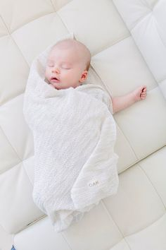 OAK Blankie | Beach Sand | Infant Swaddle Blanket | Toddler Blankie
