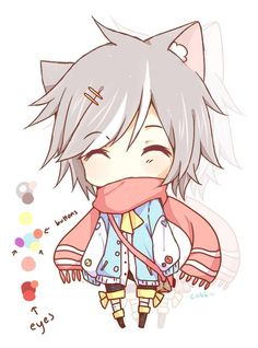 รูปภาพ anime, chibi, and kawaii Manga Anime, Anime Neko, Cute Anime Chibi, Kawaii Chibi, Fanarts Anime, Anime Kawaii, Anime Love, Anime Art, Manga Boy