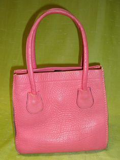 Vintage Bonnie Cashin Coach Hot Pink Leather by Fifteenpuzzle
