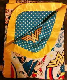 Wonder Woman Blanket. Check out this item in my Etsy shop https://www.etsy.com/listing/269353304/wonder-woman-blanket