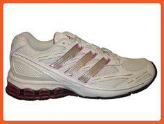 adidas Women's HARMONY W Running Shoe,White/Cherry/Radian,9 M - Athletic shoes for women (*Amazon Partner-Link)