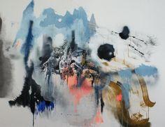 "Miriam Vlaming, ""Innatura"", 2015, 71 x 91 inches, Egg tempera on canvas"