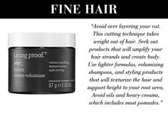Kattia Solano - hair products for fine or thin texture