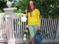 Meu Look Verde E Amarelo (14)