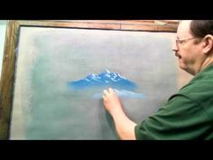 How to Draw Mountains with Chalk or Pastel