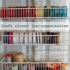 Not sure where to get the Office and Craft Closet Organization small baskets?