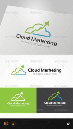 Cloud Marketing Logo