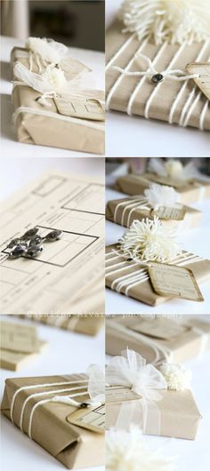 How to wrap your special IA gift!  Ideas para envolver tu regalo IA