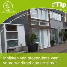 #Tip: Heb jij ruimte om de stoep te claimen als je je entreedeur direct aan de openbare straat plaatst?
