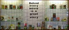 """Behind Every Movie is a Great Story"" - would be neat to put the original book behind the videos in a multimedia section"