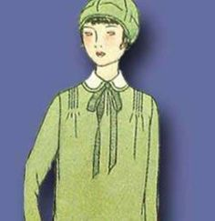 1920s Original Stunning Unused Junior Girls Flapper Dress Pattern | eBay