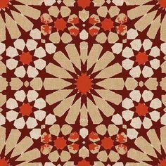 4669 R Servilleta decorada Geometricos