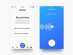 Voice app motion
