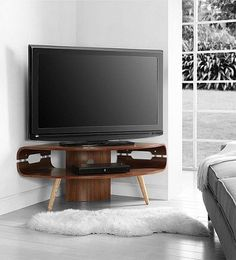 Tesco direct: Jual Lounge JF701 Large Corner TV Stand for up to 50 inch TVs…