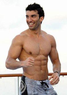 Justin Baldoni shirtless body...