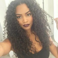 super curly weaves hairstyle  http://www.hairstylo.com/2015/07/weave-hairstyles.html