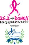 26.2 with Donna!  Marathon to finish Breast Cancer.....awesome race, and awesome cause!