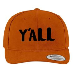 Y'all Brushed Cotton Twill Hat