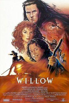 Willow Movie Art Print Silk Poster 12x18 24x36