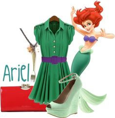 """Ariel"" by jami1990 ❤ liked on Polyvore"