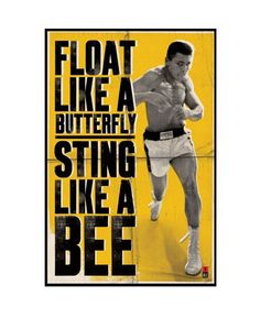 Muhammad Ali Custom Wall Paper HD Pictures and Printings Hot posters Wall Sticker office home decor U1-611