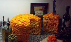 CHEESE cake cheetos puffs