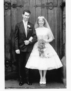 1959 bride and groom