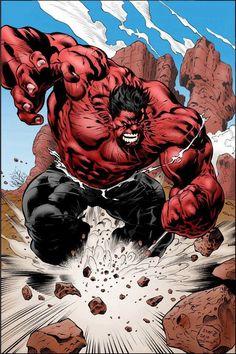Red Hulk - Universo Marvel
