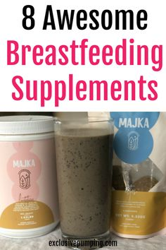 Best Supplements to Increase Milk Supply - Exclusive Pumping Breastfeeding supplements! What lactati Breastfeeding Smoothie, Breastfeeding Supplements, Breastfeeding Positions, Breastfeeding And Pumping, Low Milk Supply, Increase Milk Supply, Lactation Recipes, Lactation Cookies, Lactation Smoothie