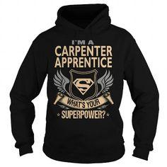 Carpenter Apprentice Job Title - #cool shirt #black sweatshirt. BUY-TODAY => https://www.sunfrog.com/Jobs/Carpenter-Apprentice-Job-Title-96251894-Black-Hoodie.html?68278
