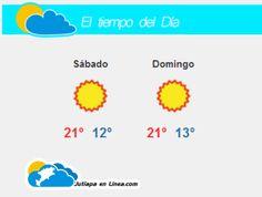 #tiempo Hoy es Sábado 18 de Enero de 2014.