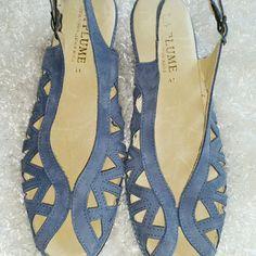 "Selling this ""La Plume Sandles"" in my Poshmark closet! My username is: mferris321. #shopmycloset #poshmark #fashion #shopping #style #forsale #La Plume #Shoes"