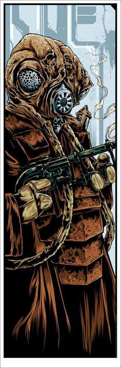 Star Wars - The Bounty Hunters by Ken Taylor