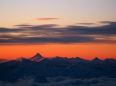 100 Incredible Views Out Of Airplane Windows - Austrian Sunrise