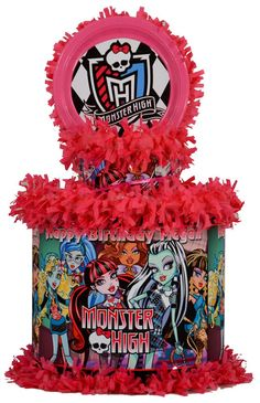 Monster High Personalized Pinata