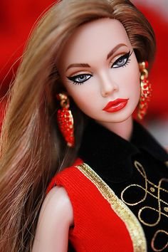 When a barbie looks better in pictures than you do lol (Poppy parker) Beautiful Barbie Dolls, Pretty Dolls, Chic Chic, Fashion Royalty Dolls, Fashion Dolls, Barbie Hair, Barbie Makeup, Poppy Parker, Real Doll
